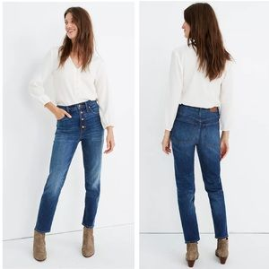 Madewell The Tall Perfect Vintage Jean Size 25